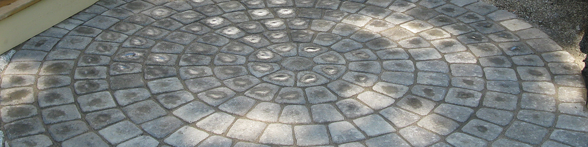 Circular Paver Patio In Bedford New Hampshire