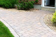 Custom paver walkways in Amherst NH