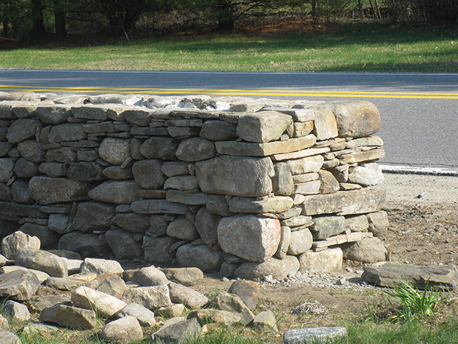 Stone walls wall installer new england accents